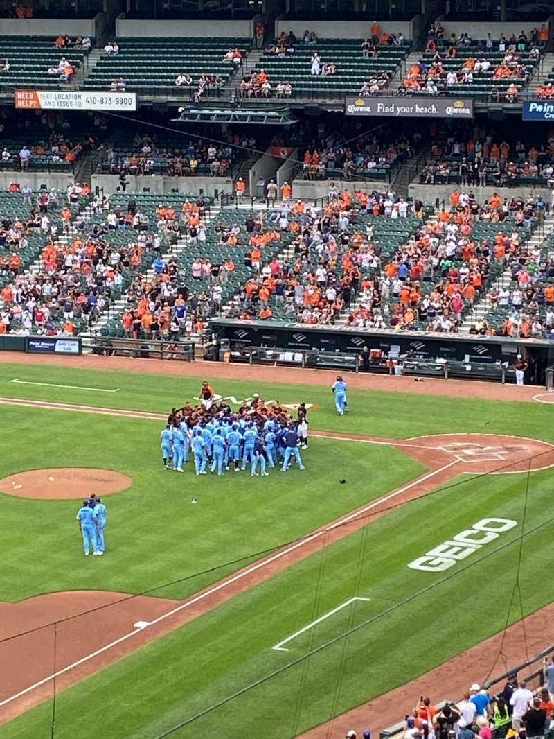 Seating view for Oriole Park at Camden Yards Section 366 Row 1 Seat 5
