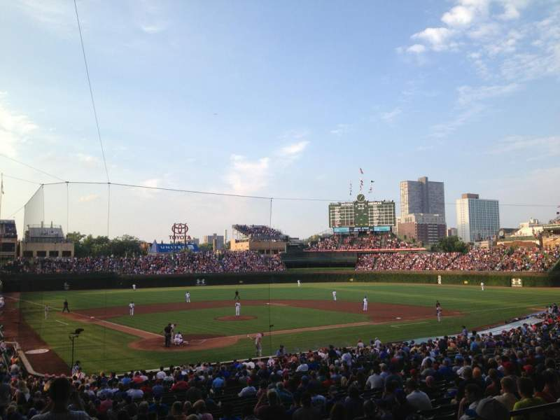 Seating view for Wrigley Field Section 223 Row 5 Seat 1