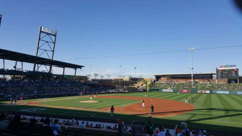 Seating view for Salt River Fields Section 204 Row 8 Seat 12