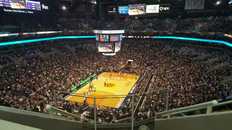 Seating view for PHX Arena Section 225 Row 6 Seat 5