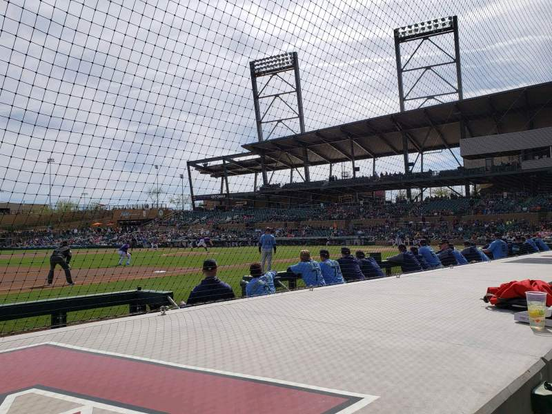 Seating view for Salt River Fields Section 119 Row 5 Seat 10