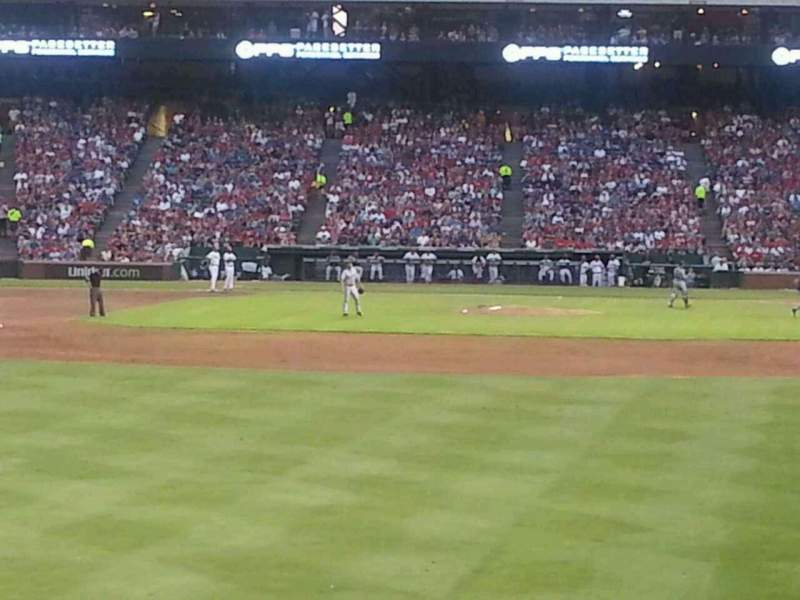 Seating view for Globe Life Park in Arlington Section 9 Row 1 Seat 7