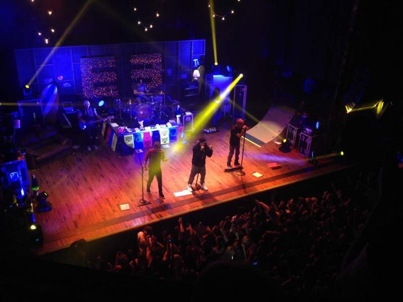 Seating view for House Of Blues - Houston Section Left Balcony Row D Seat 1,2