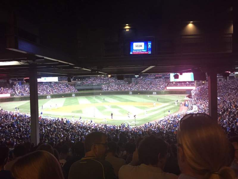Seating view for Wrigley Field Section 220 Row 21 Seat 112