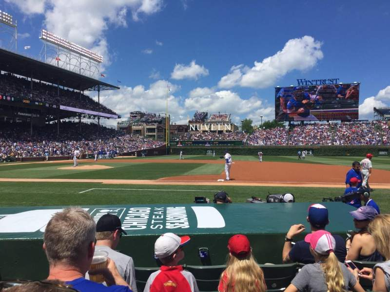 Seating view for Wrigley Field Section 31 Row 05 Seat 01