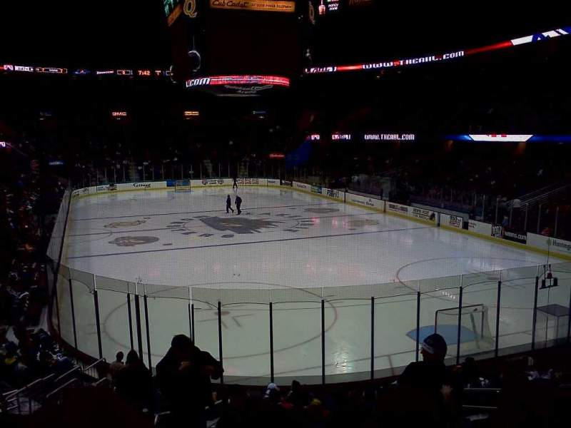 Seating view for Quicken Loans Arena Section 116 Row 15 Seat 4