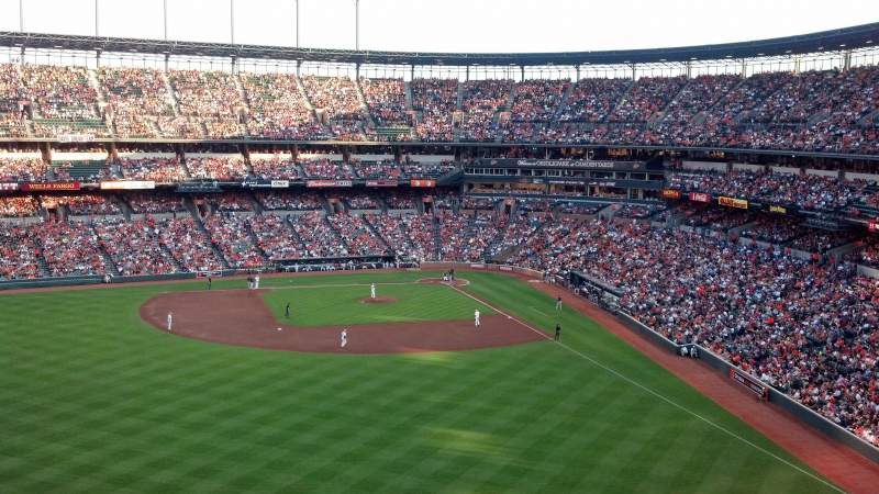 Seating view for Oriole Park at Camden Yards Section 386 Row 8 Seat ?