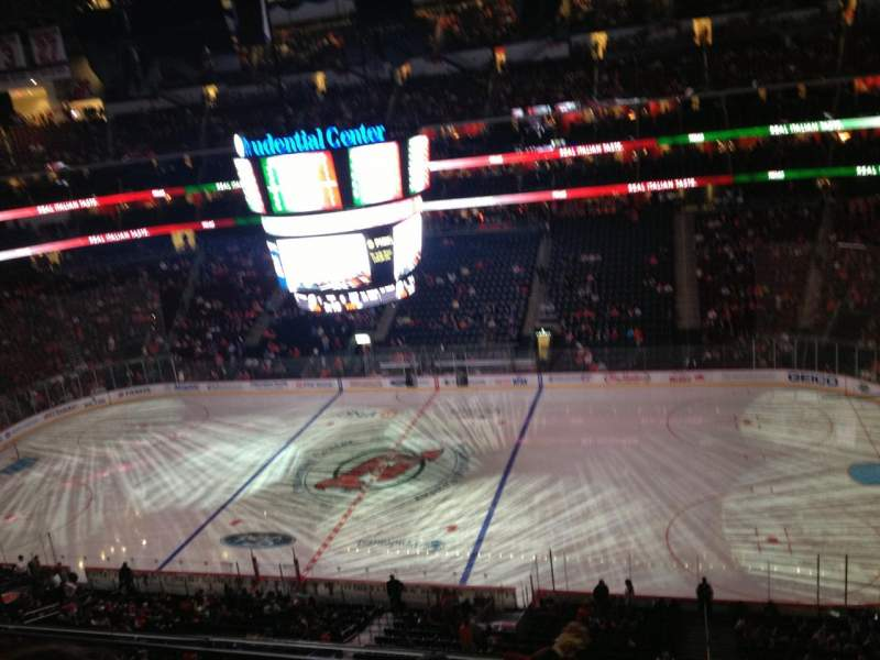 Seating view for Prudential Center Section 113 Row 4 Seat 5
