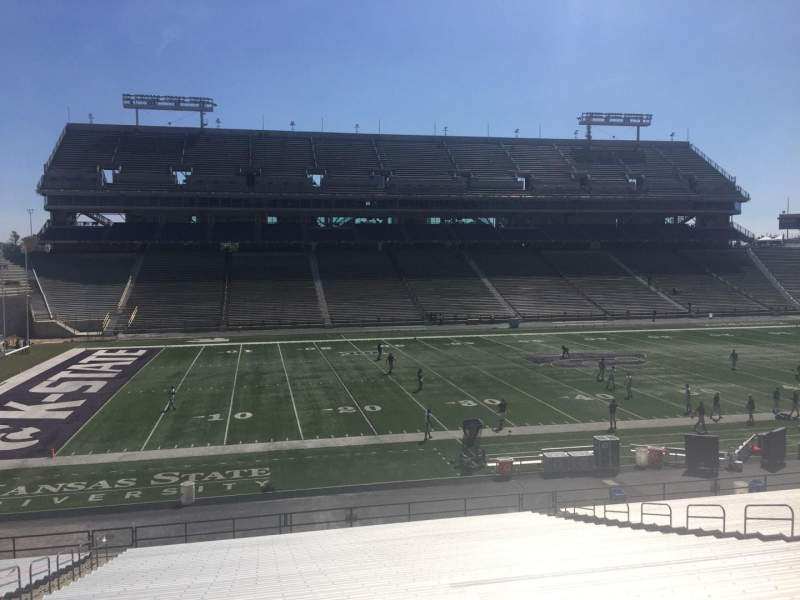 Seating view for Bill Snyder Family Stadium Section 3 Row 36 Seat 38