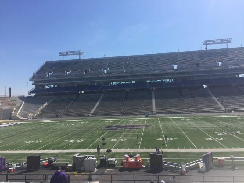 Seating view for Bill Snyder Family Stadium Section 5 Row 28 Seat 1
