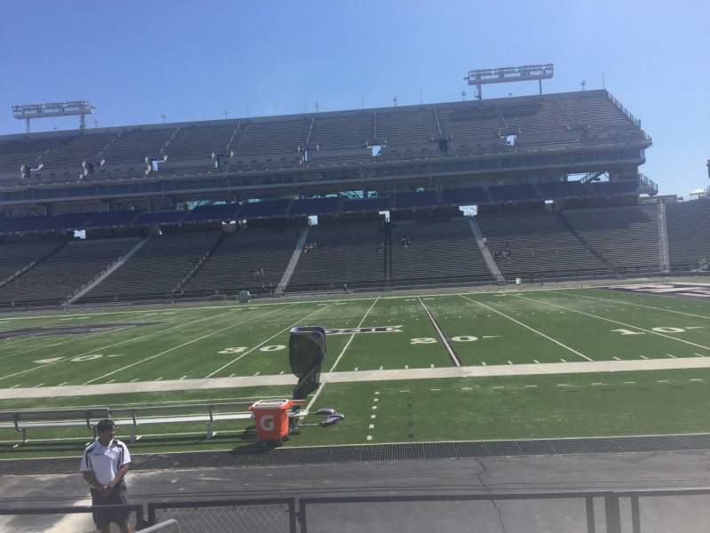 Seating view for Bill Snyder Family Stadium Section 7 Row 8 Seat 4