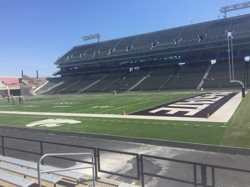 Seating view for Bill Snyder Family Stadium Section 9 Row 7 Seat 7