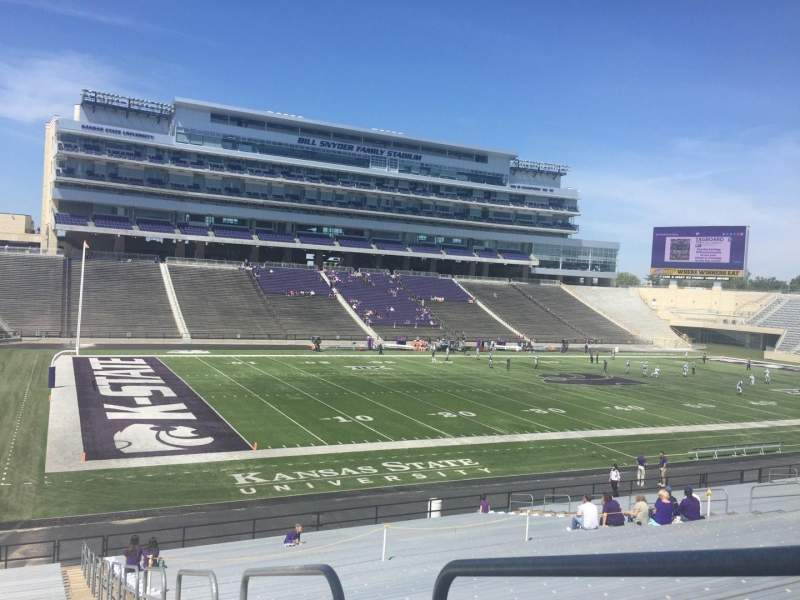 Seating view for Bill Snyder Family Stadium Section 20 Row 34 Seat 1