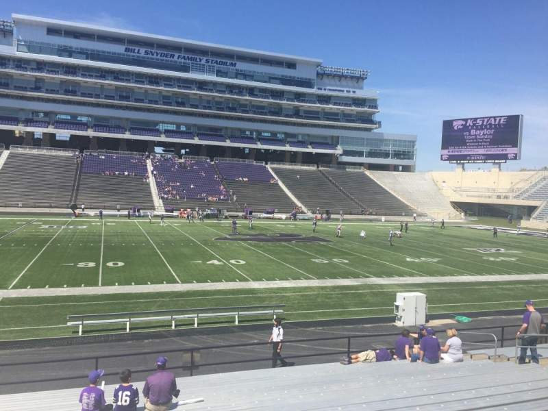 Seating view for Bill Snyder Family Stadium Section 23 Row 18 Seat 23