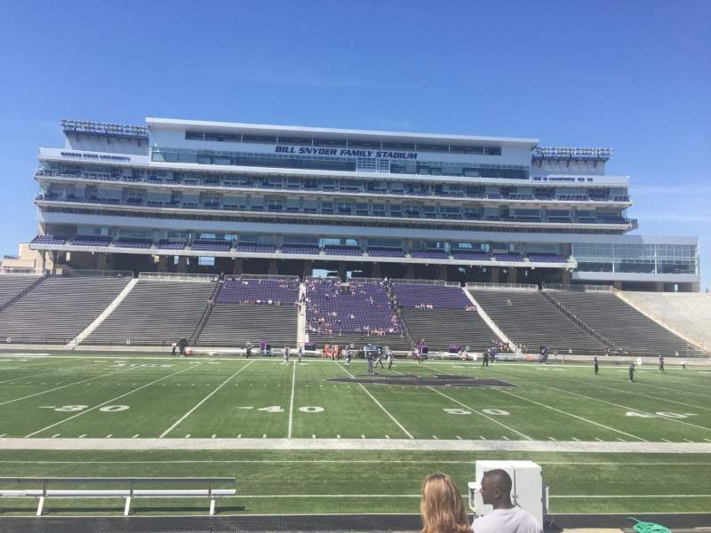 Seating view for Bill Snyder Family Stadium Section 23 Row 10 Seat 2