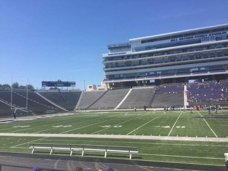 Seating view for Bill Snyder Family Stadium Section 24 Row 8