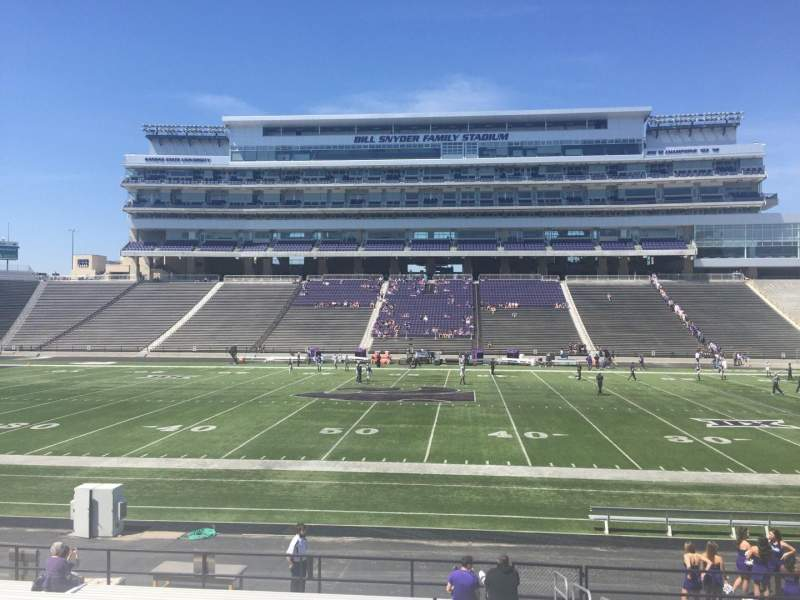 Seating view for Bill Snyder Family Stadium Section 24 Row 20