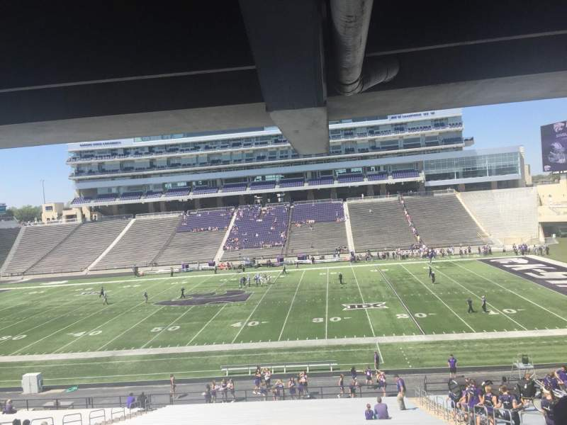 Seating view for Bill Snyder Family Stadium Section 25 Row 43