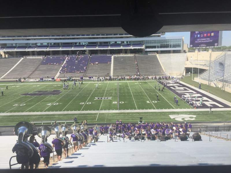 Seating view for Bill Snyder Family Stadium Section 26 Row 44 Seat 5