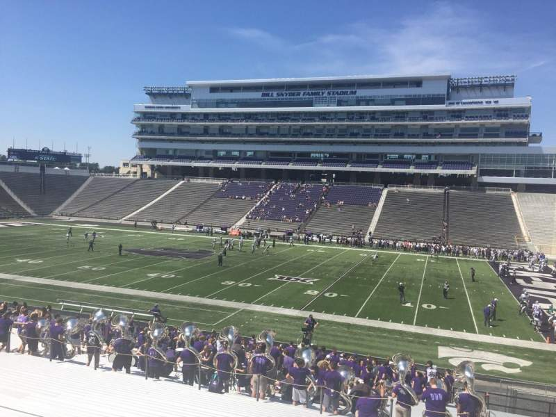 Seating view for Bill Snyder Family Stadium Section 26 Row 32