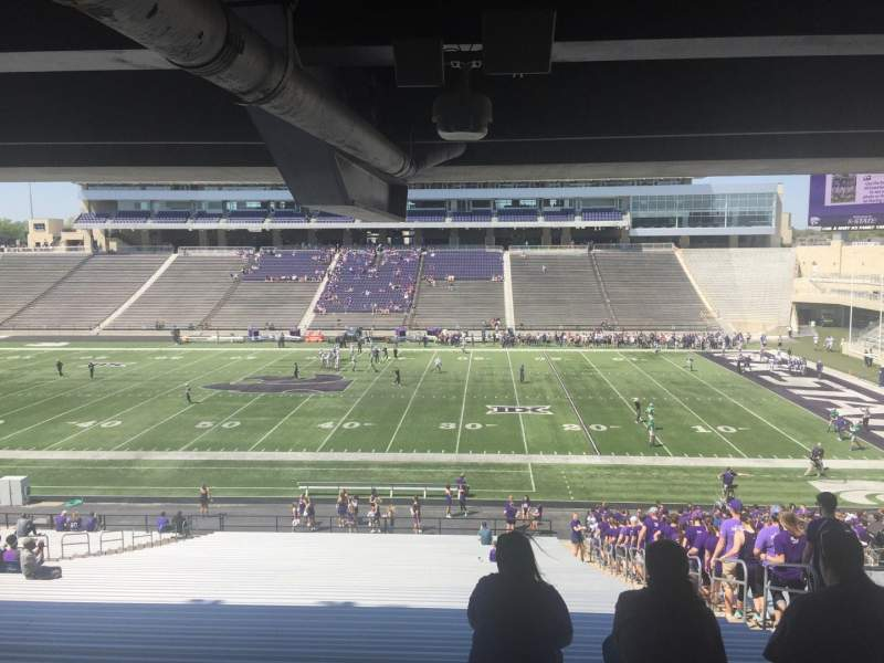 Seating view for Bill Snyder Family Stadium Section 25 Row 45 Seat 23