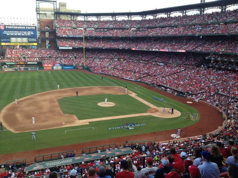 Seating view for Busch Stadium Section 259 Row DR Seat 5