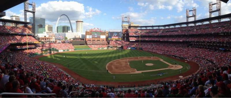 Seating view for Busch Stadium Section 258 Row DR Seat 5