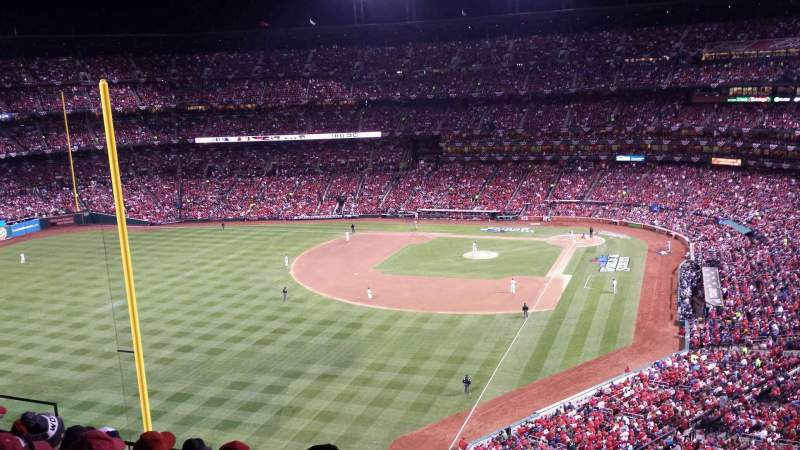 Seating view for Busch Stadium Section 370 Row 7 Seat 5