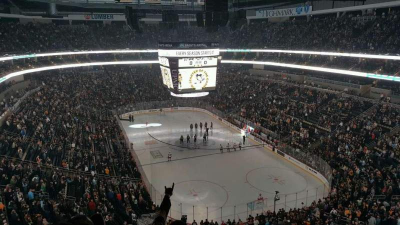 Seating view for PPG Paints Arena Section 213 Row E Seat 10