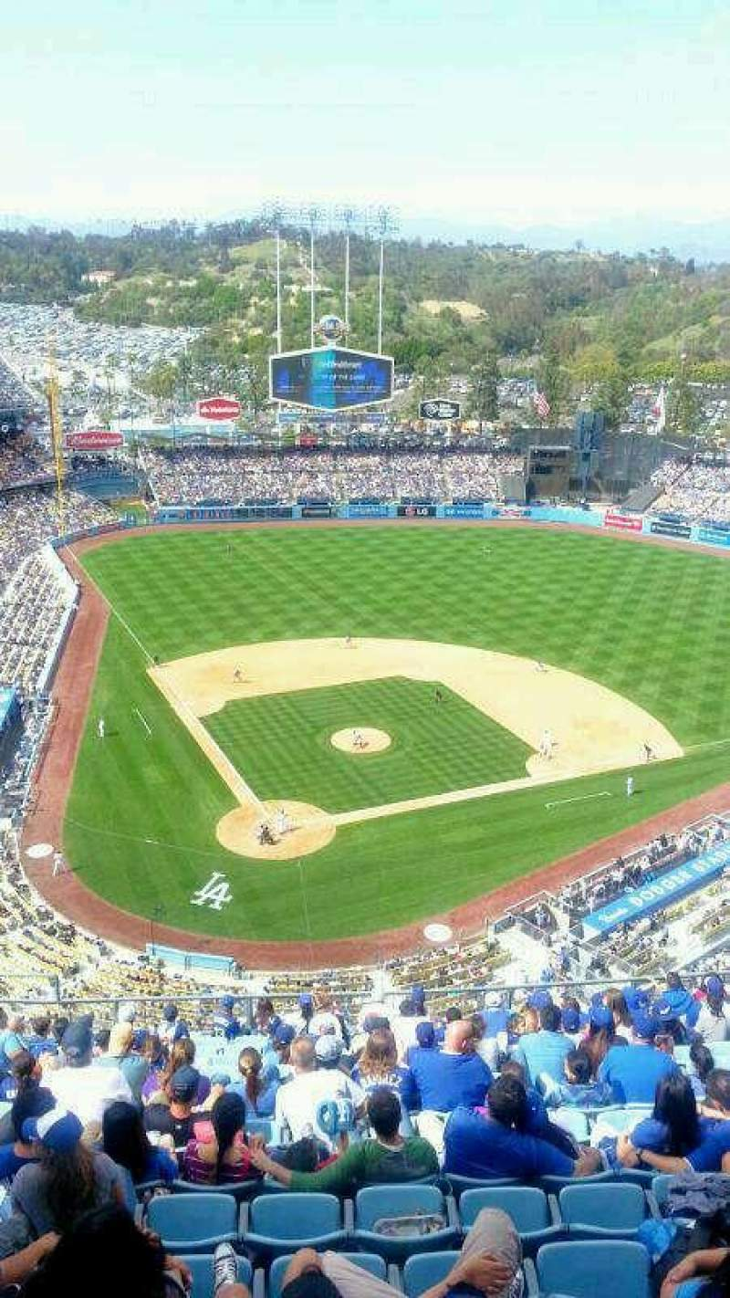 Seating view for Dodger Stadium Section TD