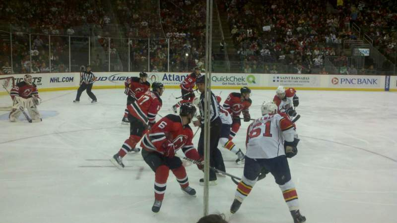 Seating view for Prudential Center Section 6 Row 3 Seat 4