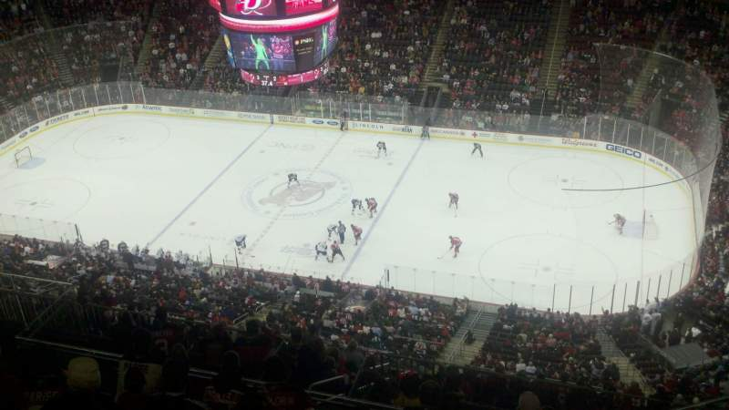 Seating view for Prudential Center Section 214 Row 8 Seat 5