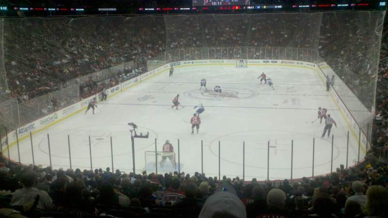 Seating view for Prudential Center Section 14 Row 22