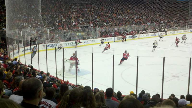 Seating view for Prudential Center Section 15 Row 12 Seat 8