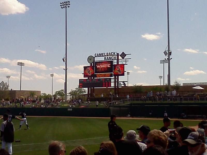 Seating view for Camelback Ranch Section 2 Row 5
