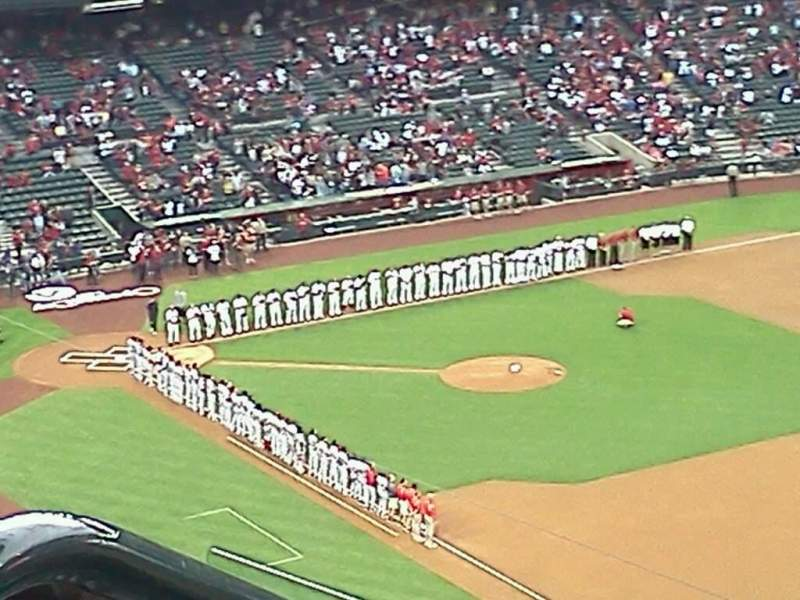 Seating view for Chase Field Section 302 Row 17 Seat 17
