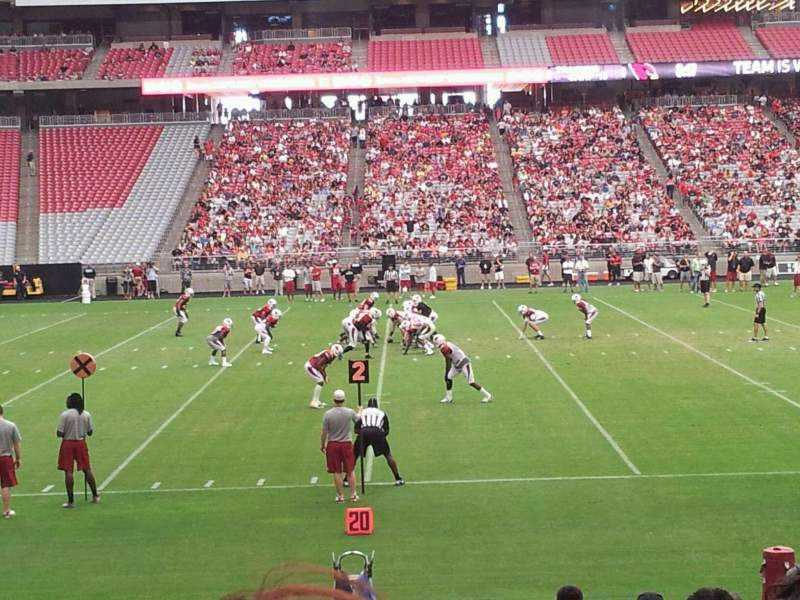 Seating view for State Farm Stadium