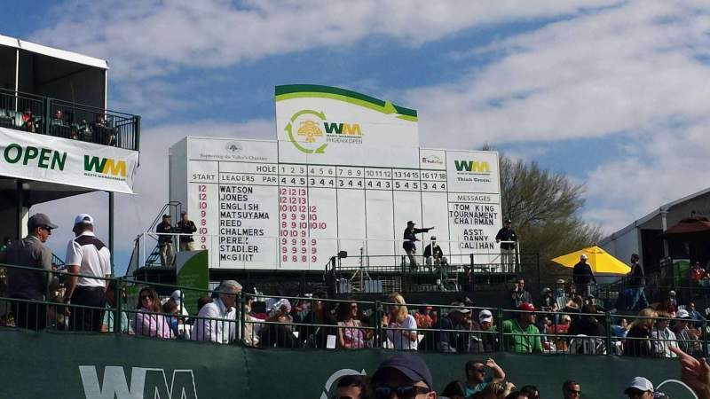 Seating view for TPC Of Scottsdale
