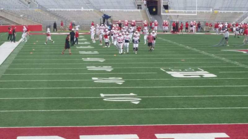 Seating view for Camp Randall Stadium Section z3 Row 16 Seat 19