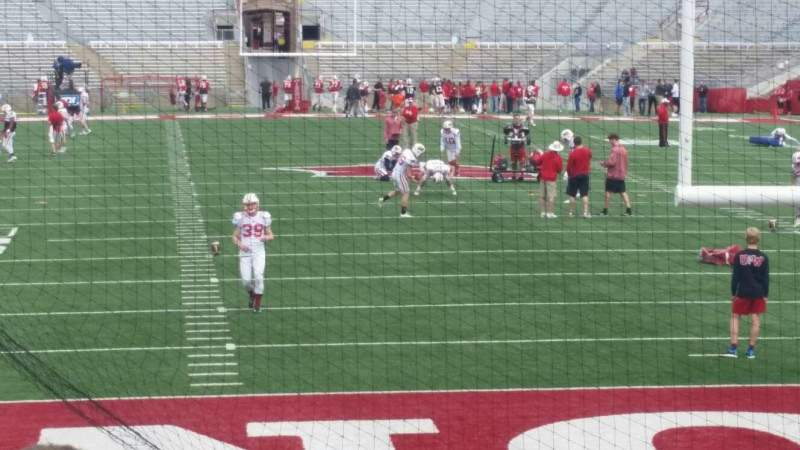 Seating view for Camp Randall Stadium Section yz Row 16 Seat 32