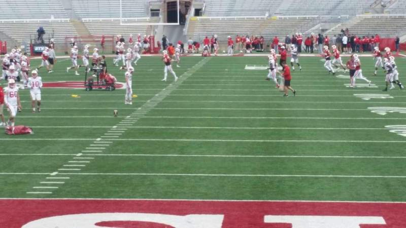 Seating view for Camp Randall Stadium Section y3 Row 16 Seat 16