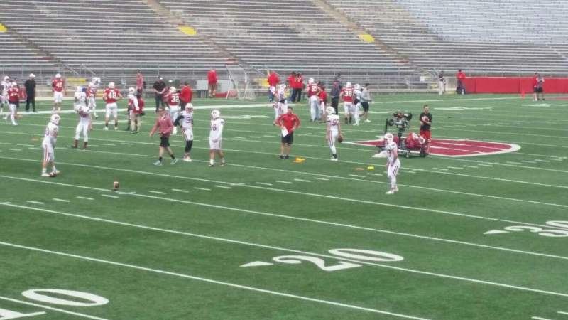 Seating view for Camp Randall Stadium Section x Row 20 Seat 14