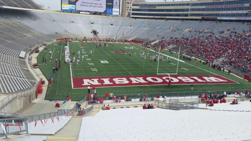 Seating view for Camp Randall Stadium Section z3 Row 57 Seat 36