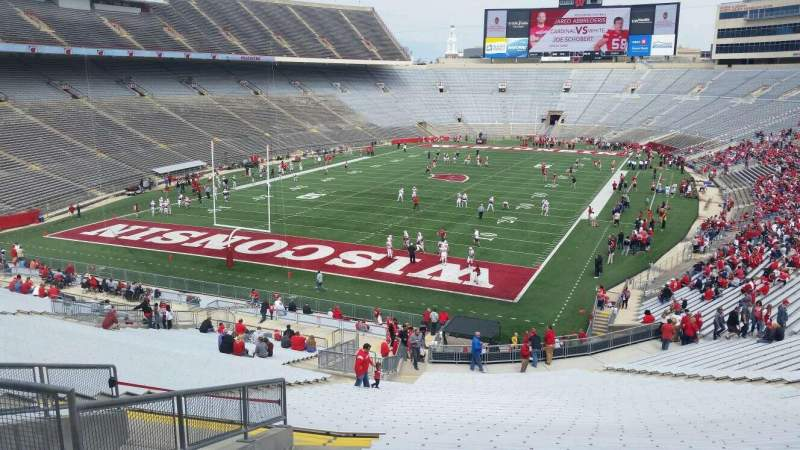 Seating view for Camp Randall Stadium Section y2 Row 57 Seat 36