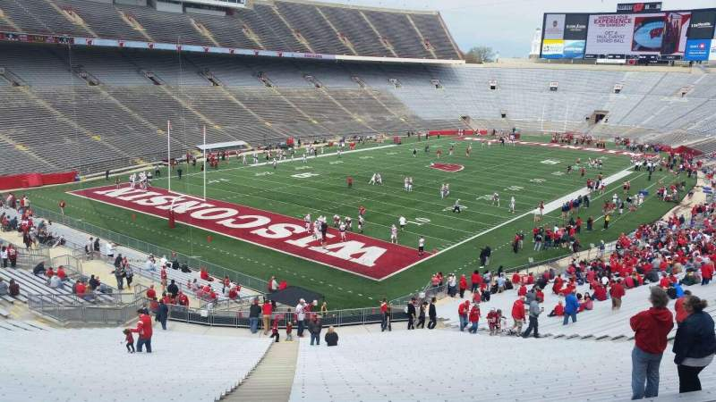 Seating view for Camp Randall Stadium Section y1 Row 57 Seat 32
