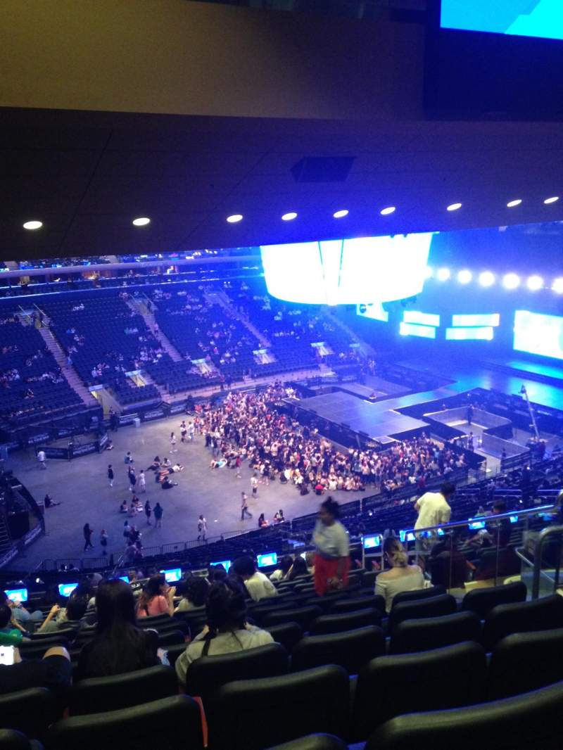 Seating view for Madison Square Garden Section 208 Row 16 Seat 18