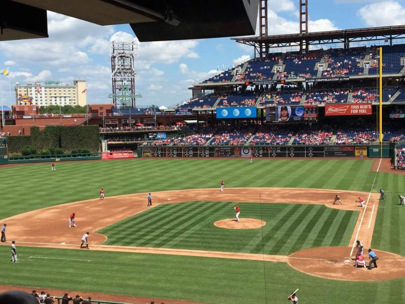 Seating view for Citizens Bank Park Section Suite 26 Row 1 Seat 1