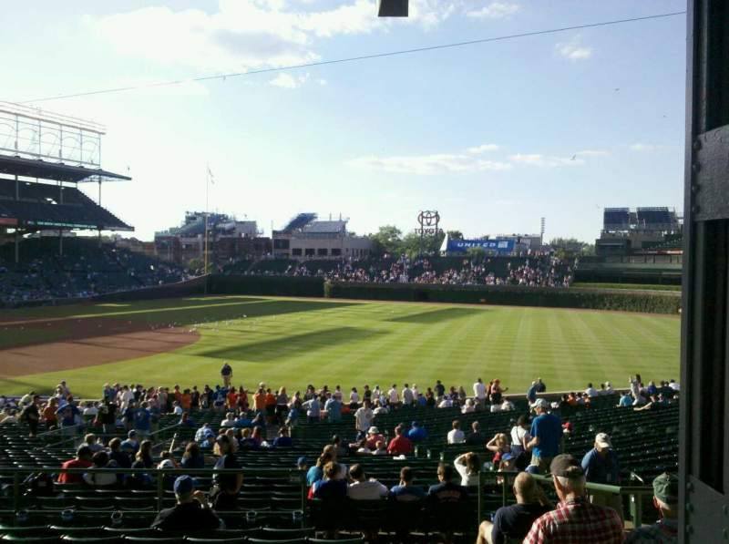 Seating view for Wrigley Field Section 229 Row 9