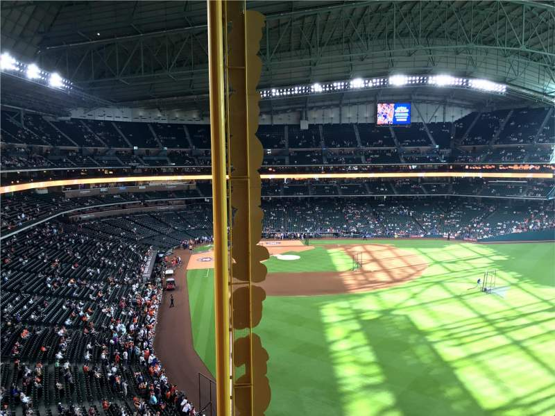 Seating view for Minute Maid Park Section 336 Row 1 Seat 11