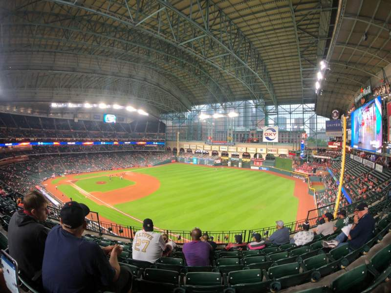 Minute Maid Park, section: 332, row: 6, seat: 8